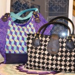 Recycle Woven Fabric Making & Bag Making with Leather Straps