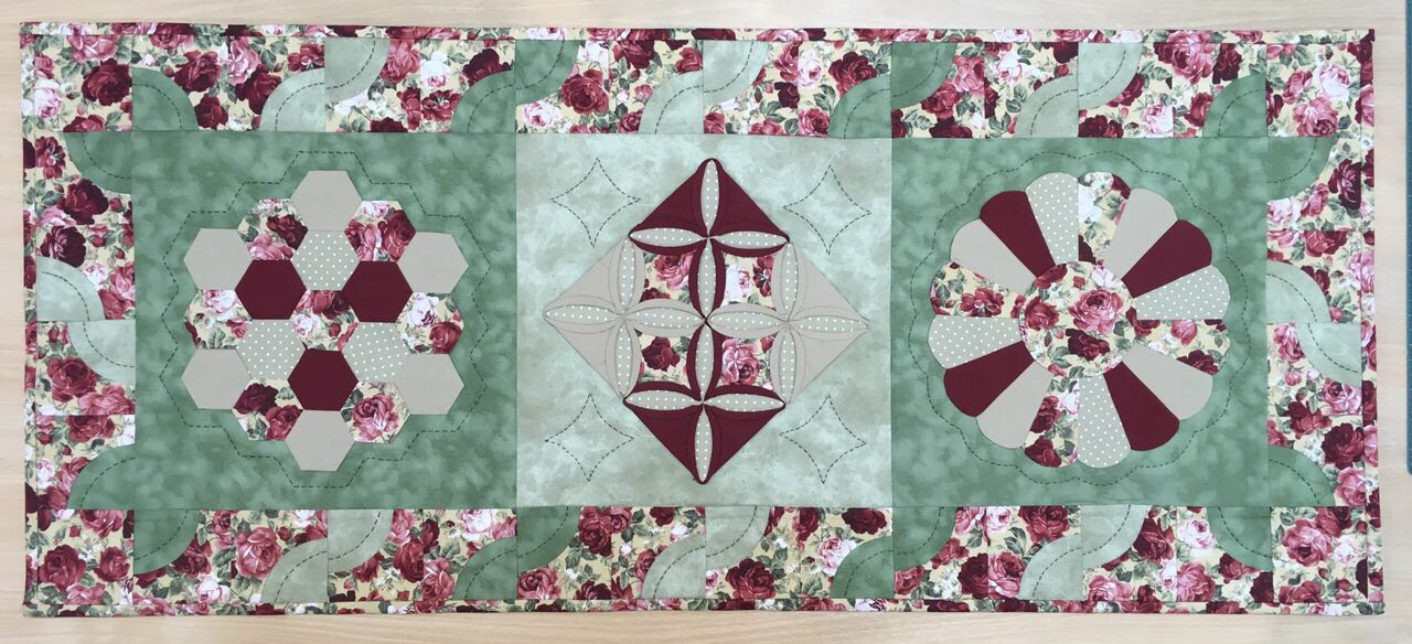 Hand patchwork and quilting by S Alizadegan Hand patchwork and quilting by S Alizadegan