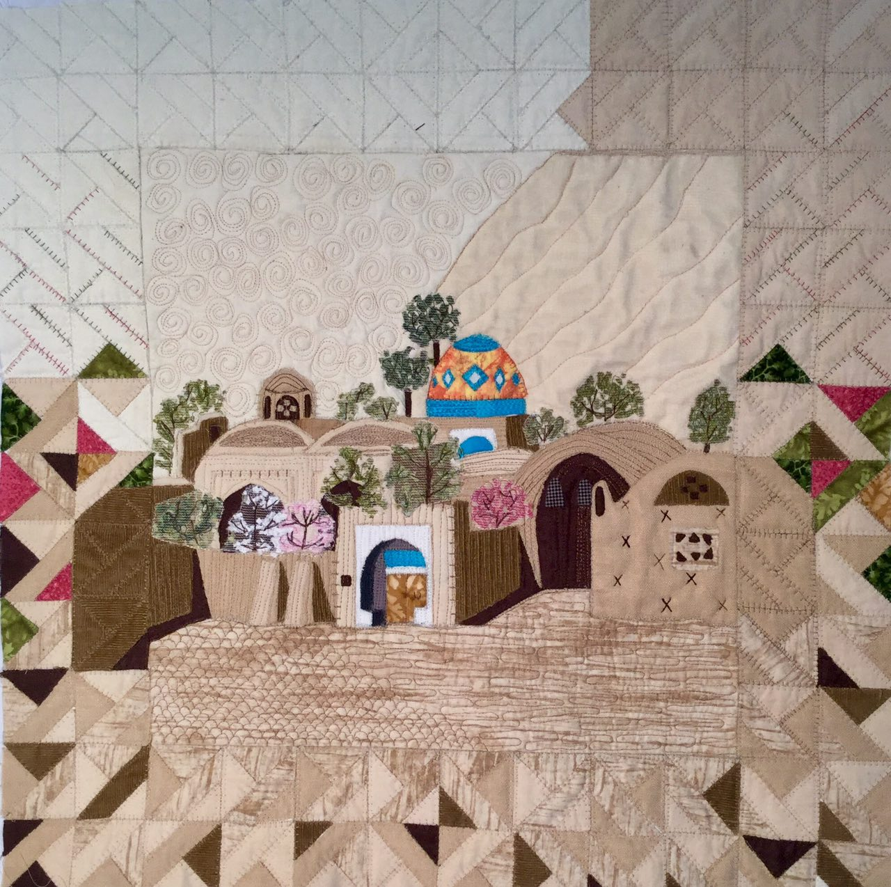 Work by Narges Hosseinzadegan  (Patchiran Imagery Classes 2017)