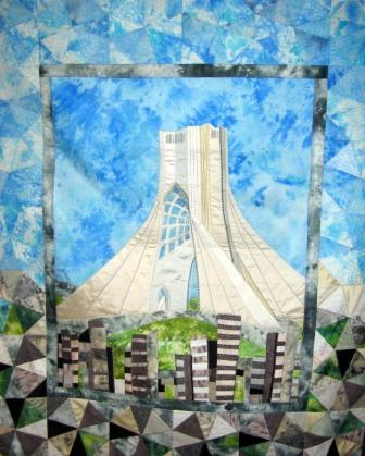 Michelle Gilder Azadi Tower 2007