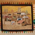 Prize Winner Dubai International Quilt Exhibition Autumn in the Desert by Simin Ahmaripour