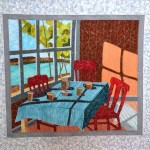 Prize Winner Dubai International Quilt Exhibition -The Onset of Autumn by Simin Ahmaripour