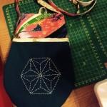Sashiko Bag by N. Saiidi