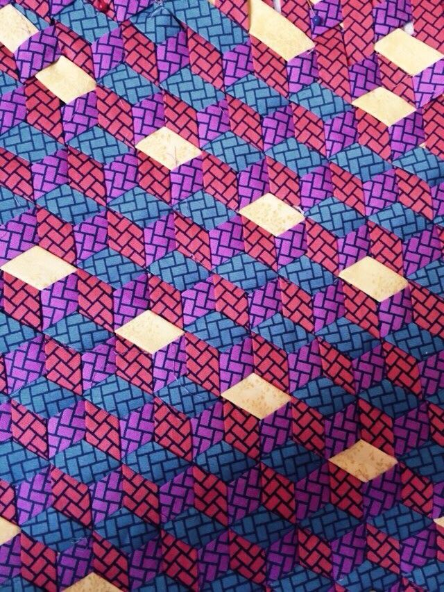 Recycled Textile Classes from 2015 -work by Nassim Jeddari