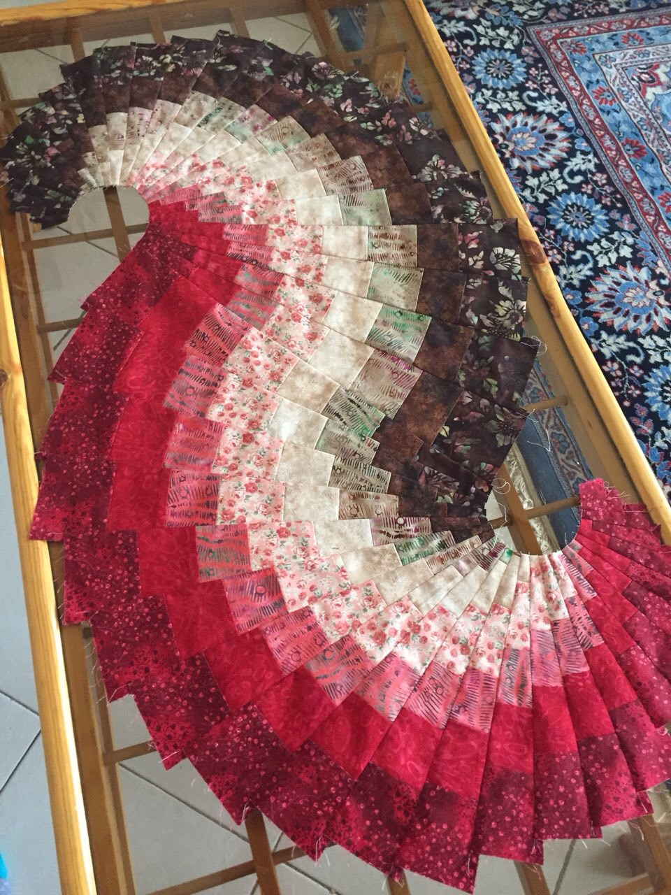 Bargello Spiral Classes from 2015 Spring