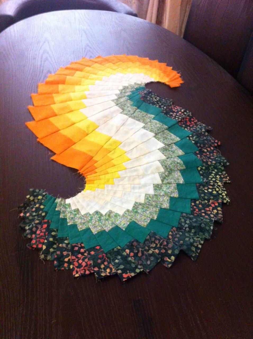 Bargello Spiral Classes from 2015 Spring - work by N Hajaari