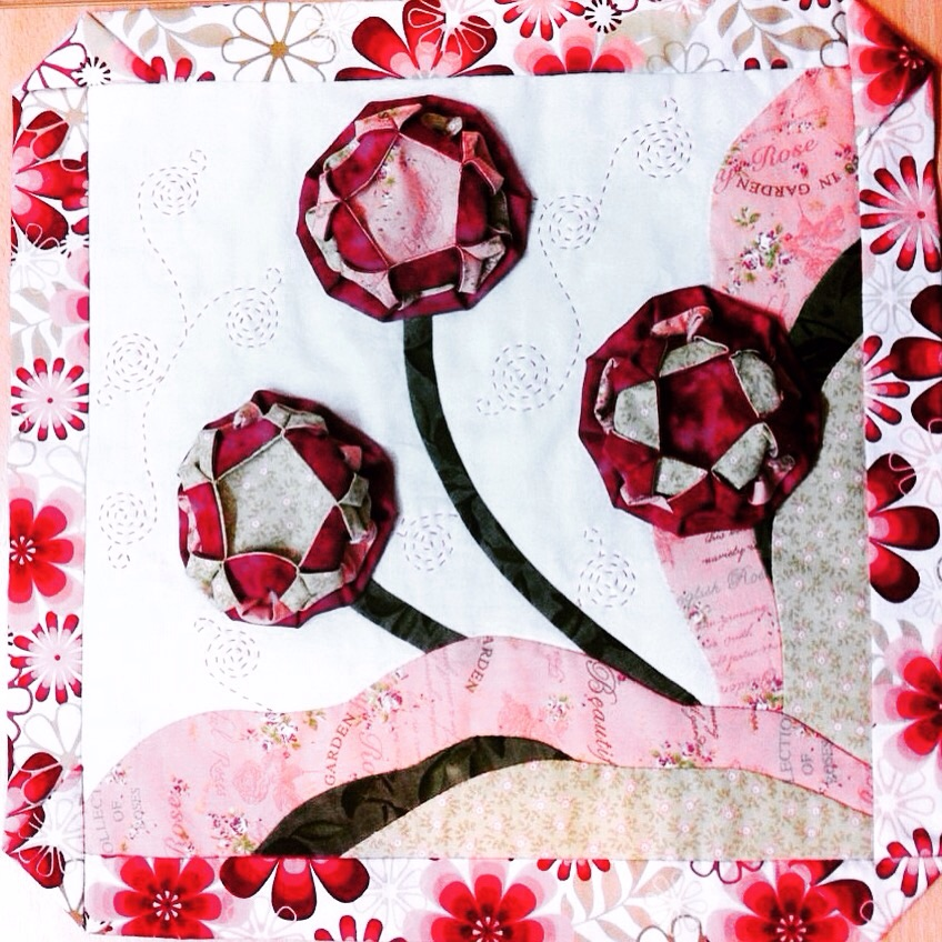 Origami Applique by M Hashemi