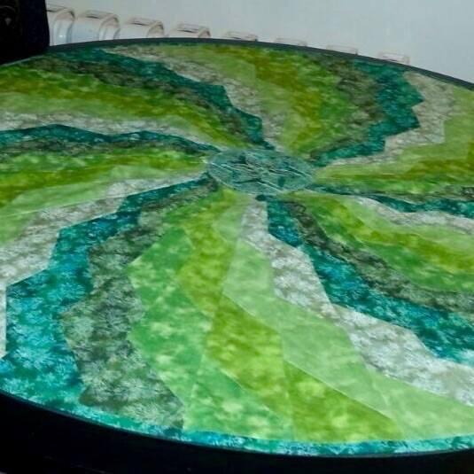 Spiral Bargello by A Khaleghi