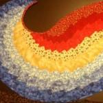 Spiral Bargello by J Dafak