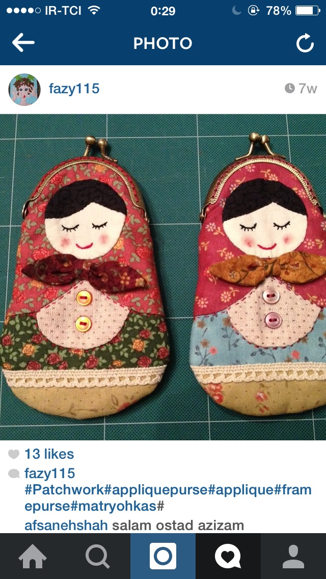 Mini Matrushka Purses by F Mobasheri
