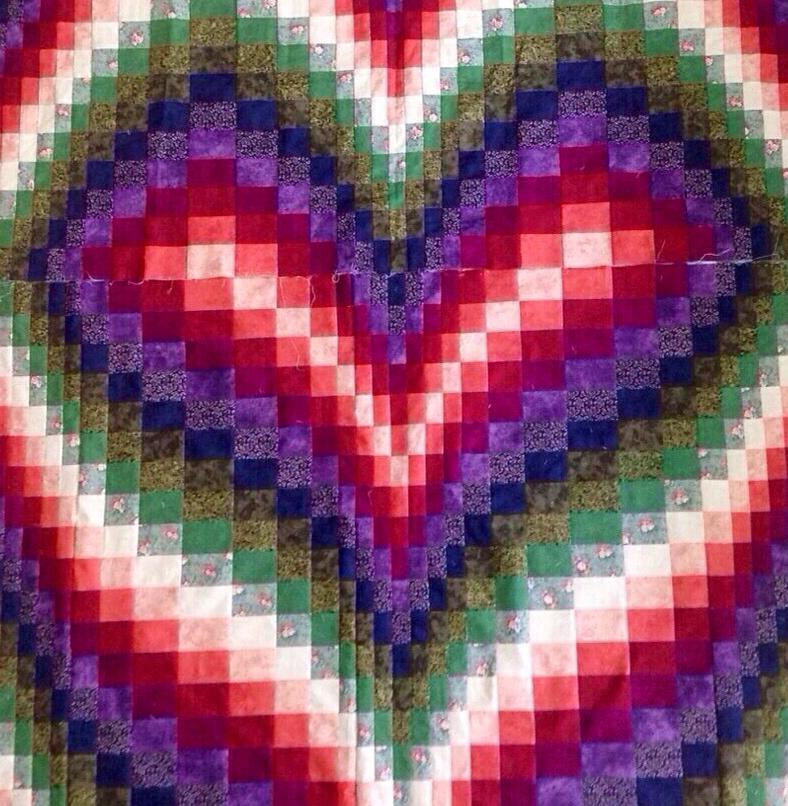 Heart Bargello
