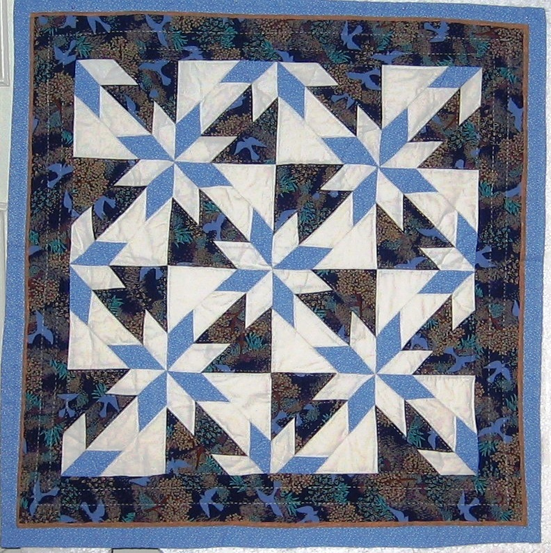 Hand Patchwork & Quilting  Class 1/اولین کلاس by S Sarpoulaki
