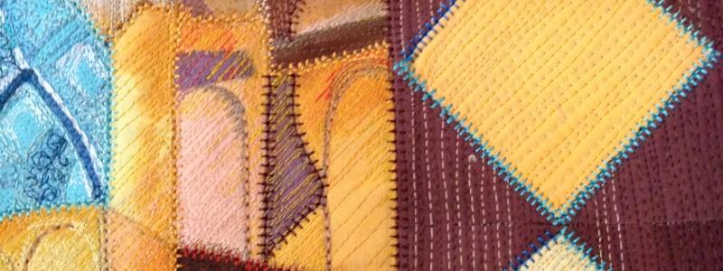 Detail- Mystical Metropolis by Michelle Gilder