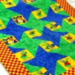 Child's Quilt  by M Tabatabaie