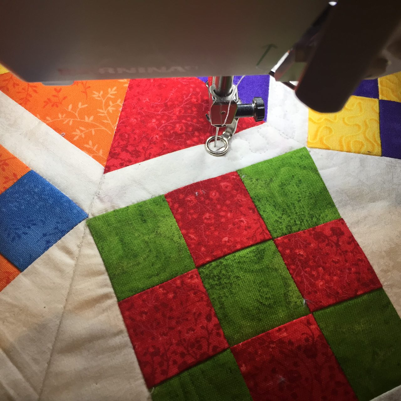 Quilting with Manije Hesaraki