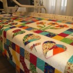 Applique on Quilt Frame