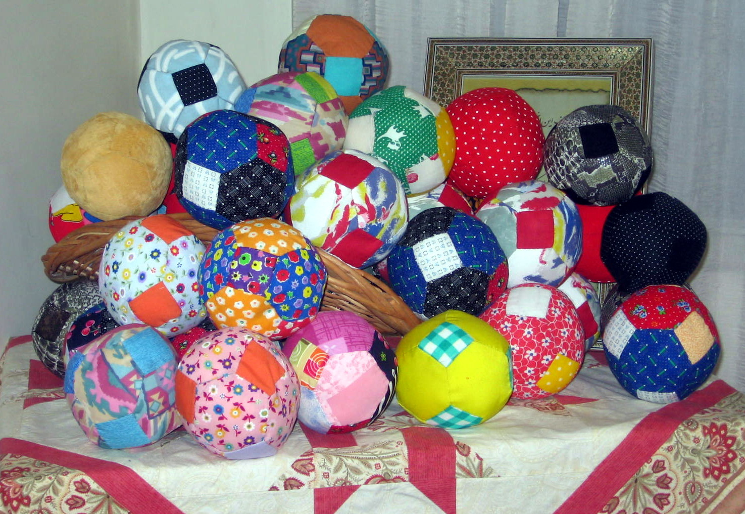 Toys sewn for Charity