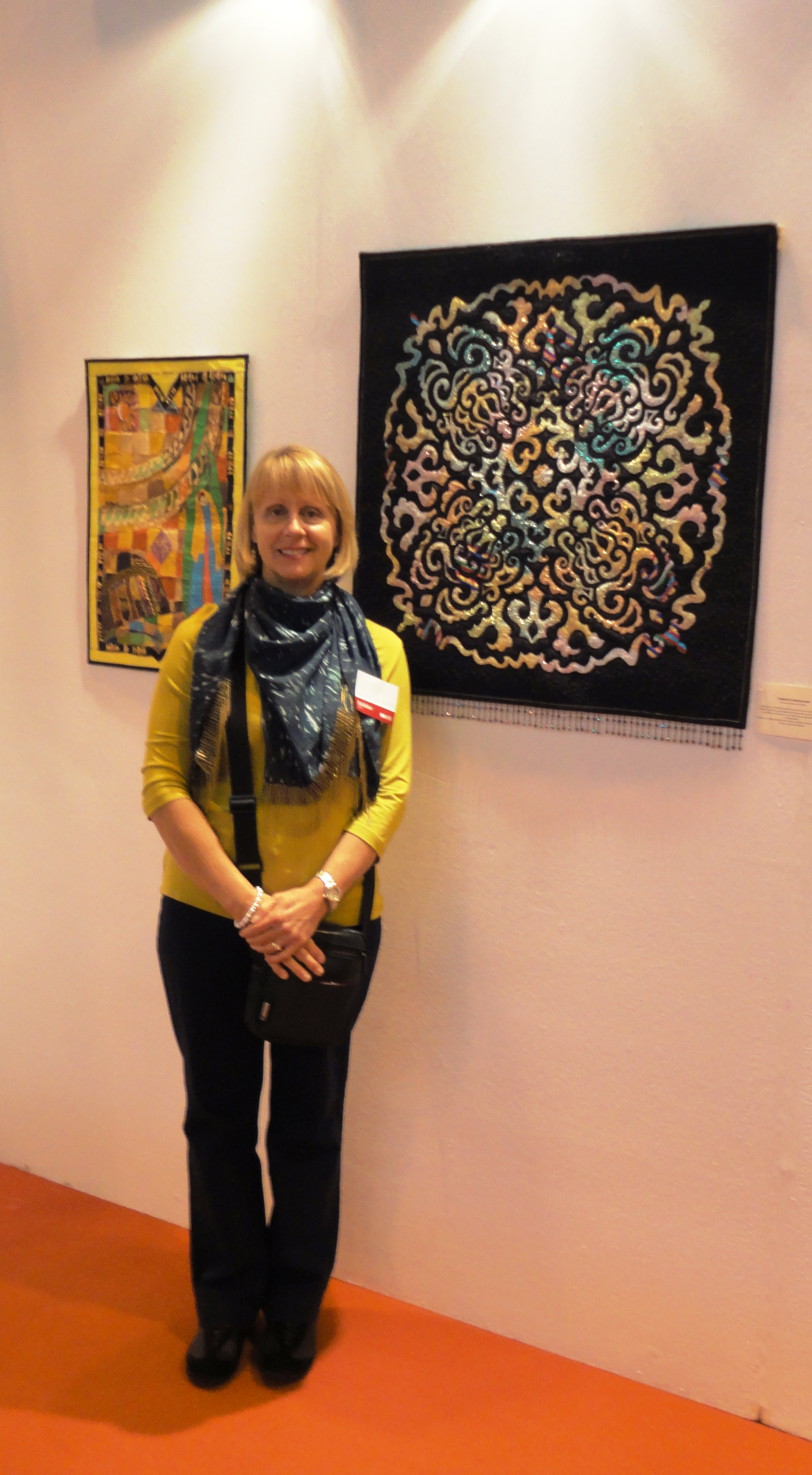 Middle East Quilt Artists @ Festival of Quilts with Janine Ibbini