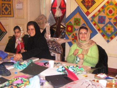 bahman exhibition  M Ajam and M Baghai