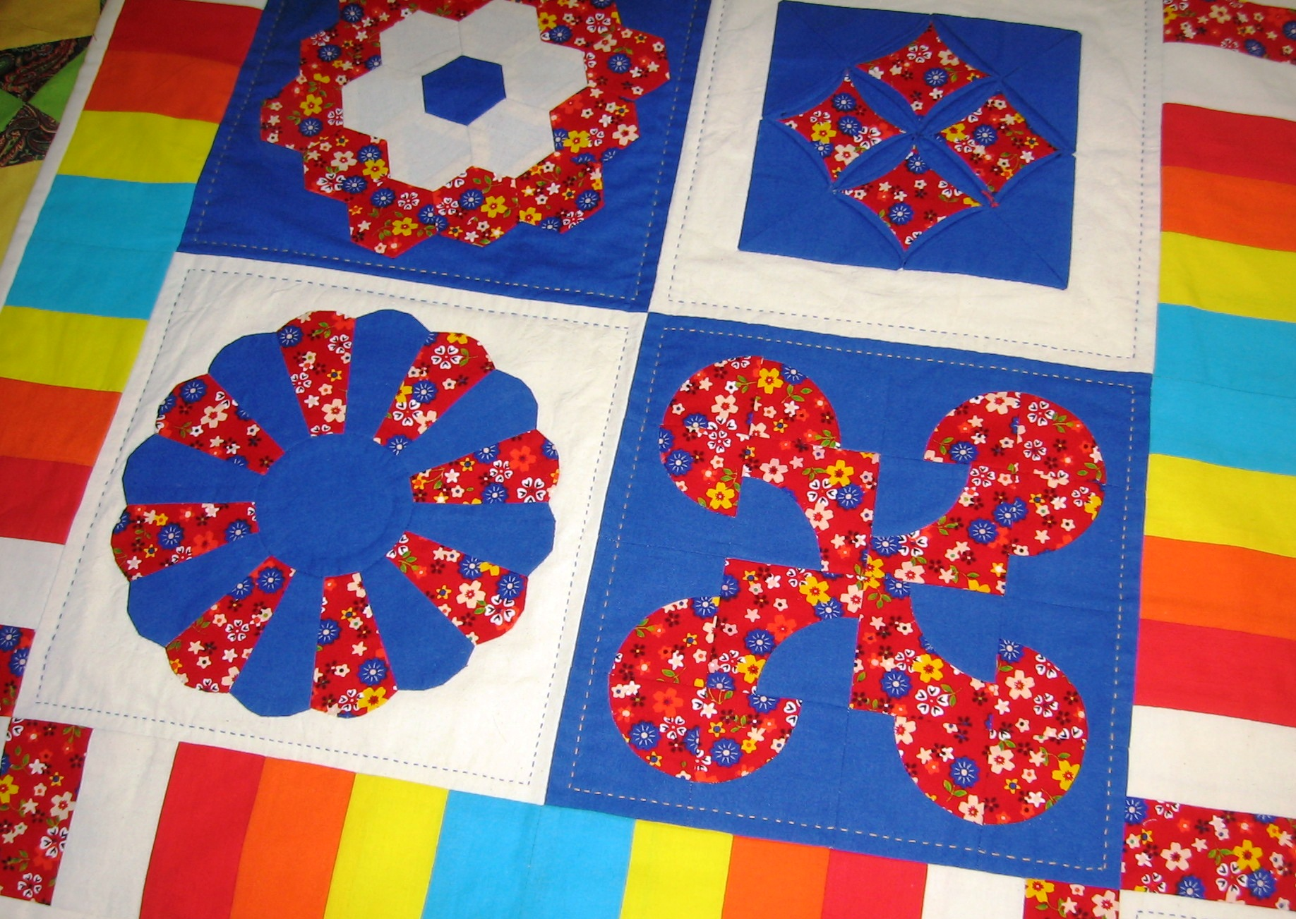 Hand Patchwork & Quilting by Fahimeh Teymouri