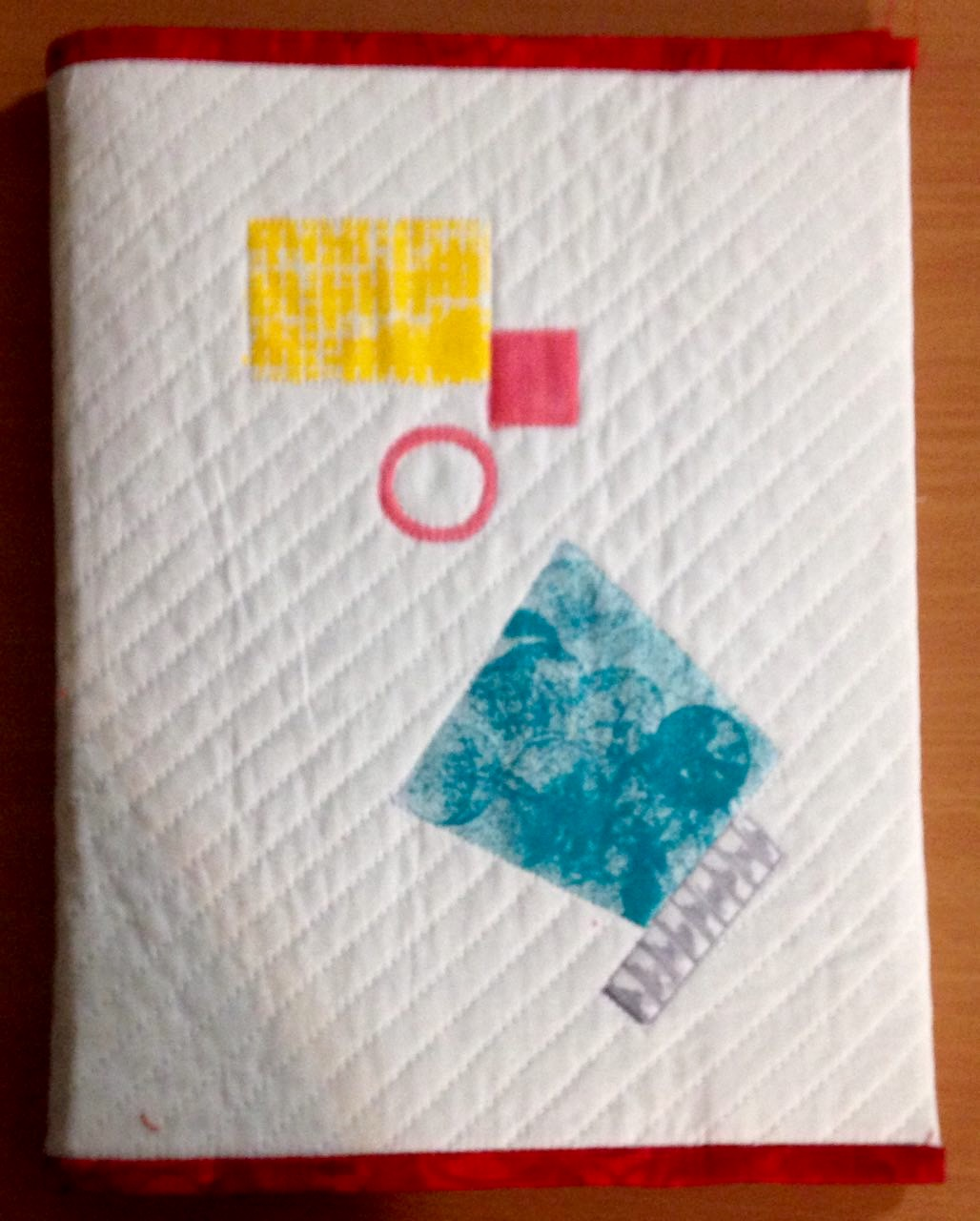 Printed and Quilted book cover