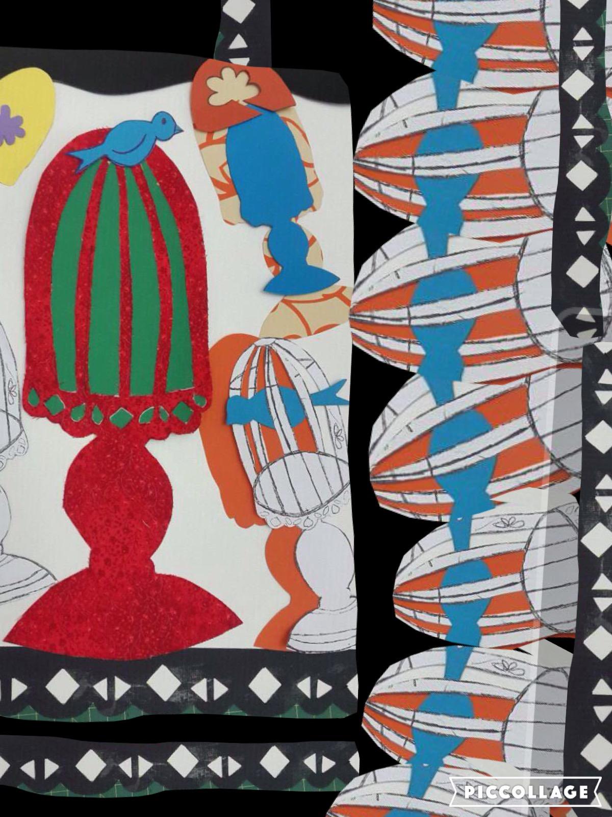 Manije Hesaraki - Collage