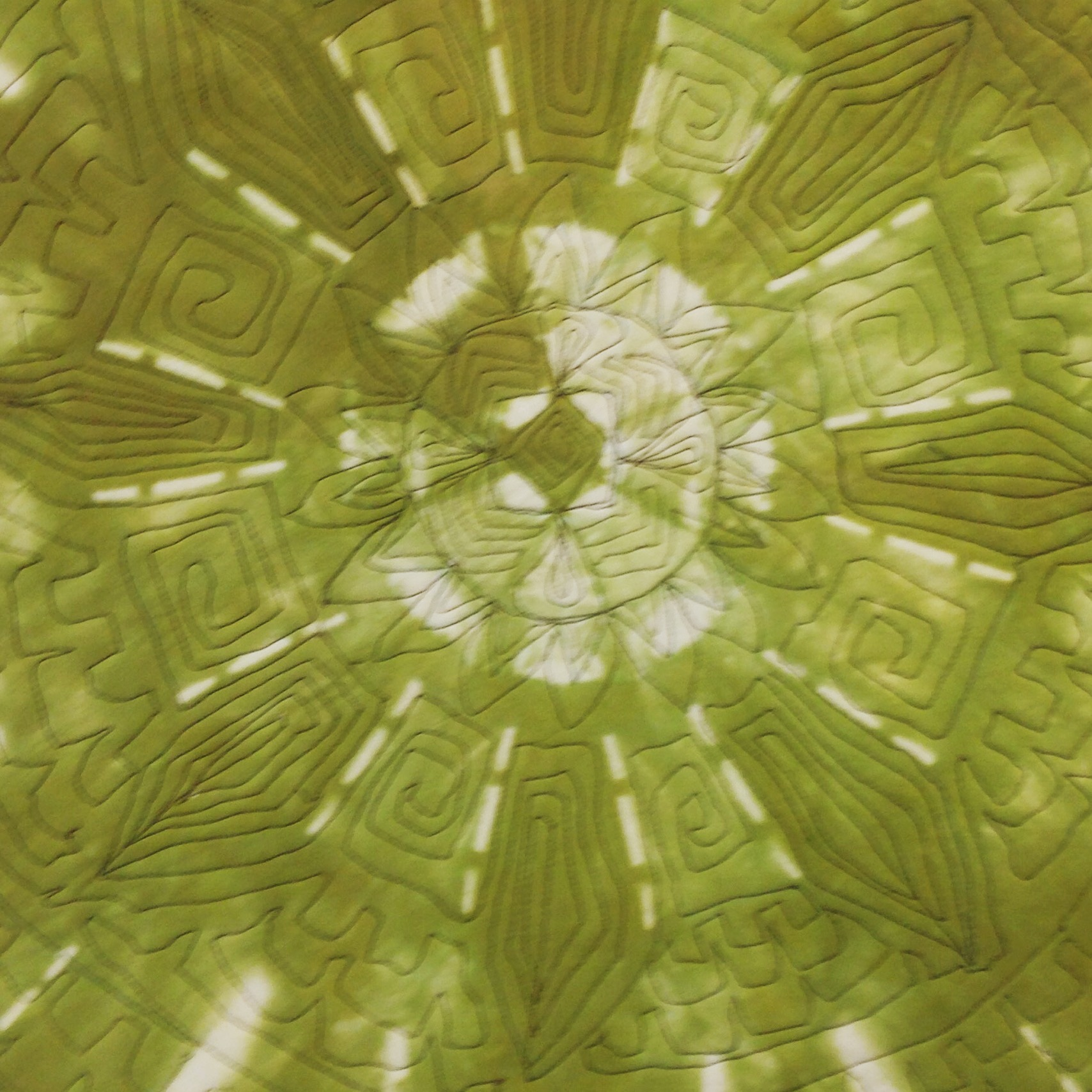 quilting and textile dyeing
