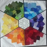 Colour Wheel with Printed Fabrics