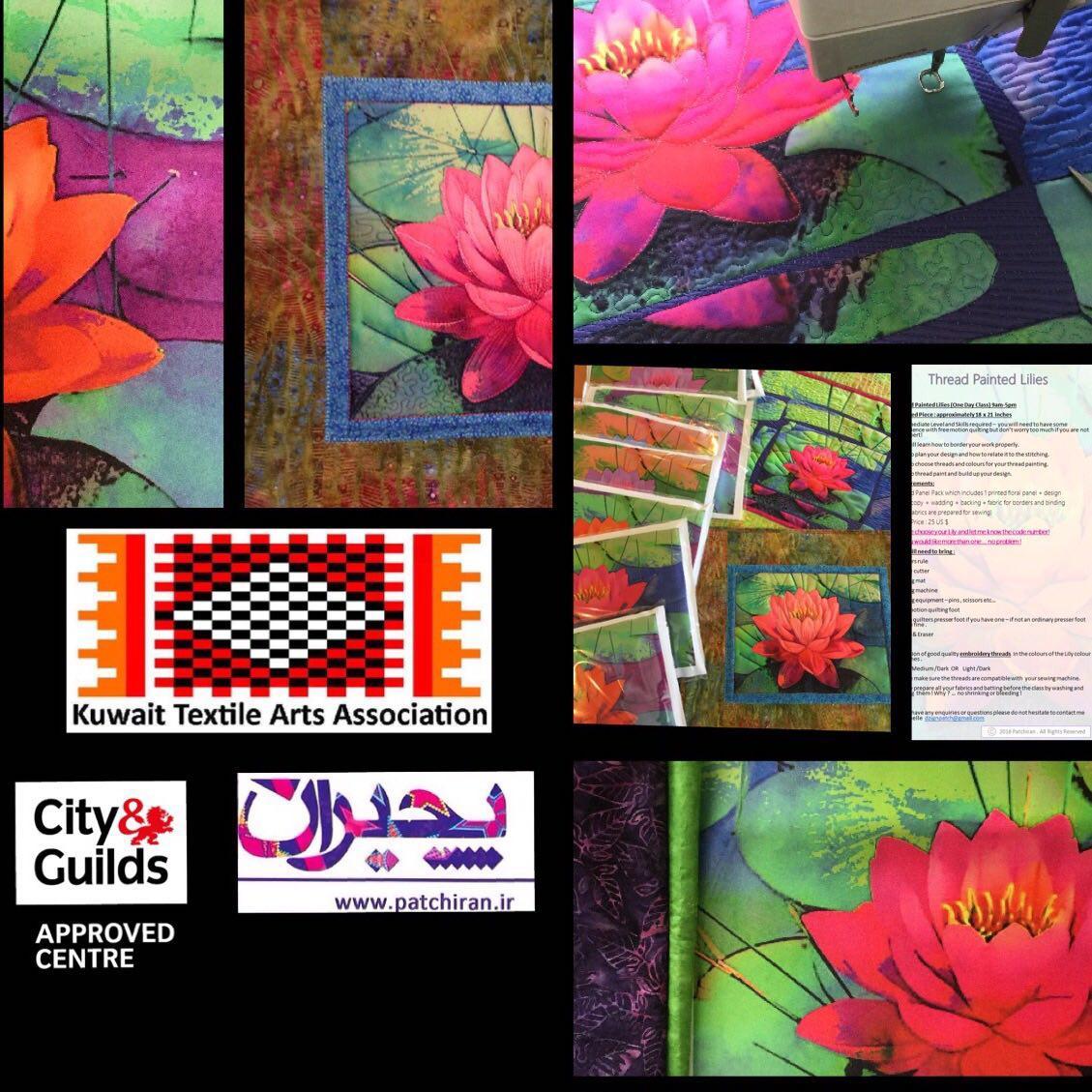 KTAA - Painted Lilies Class