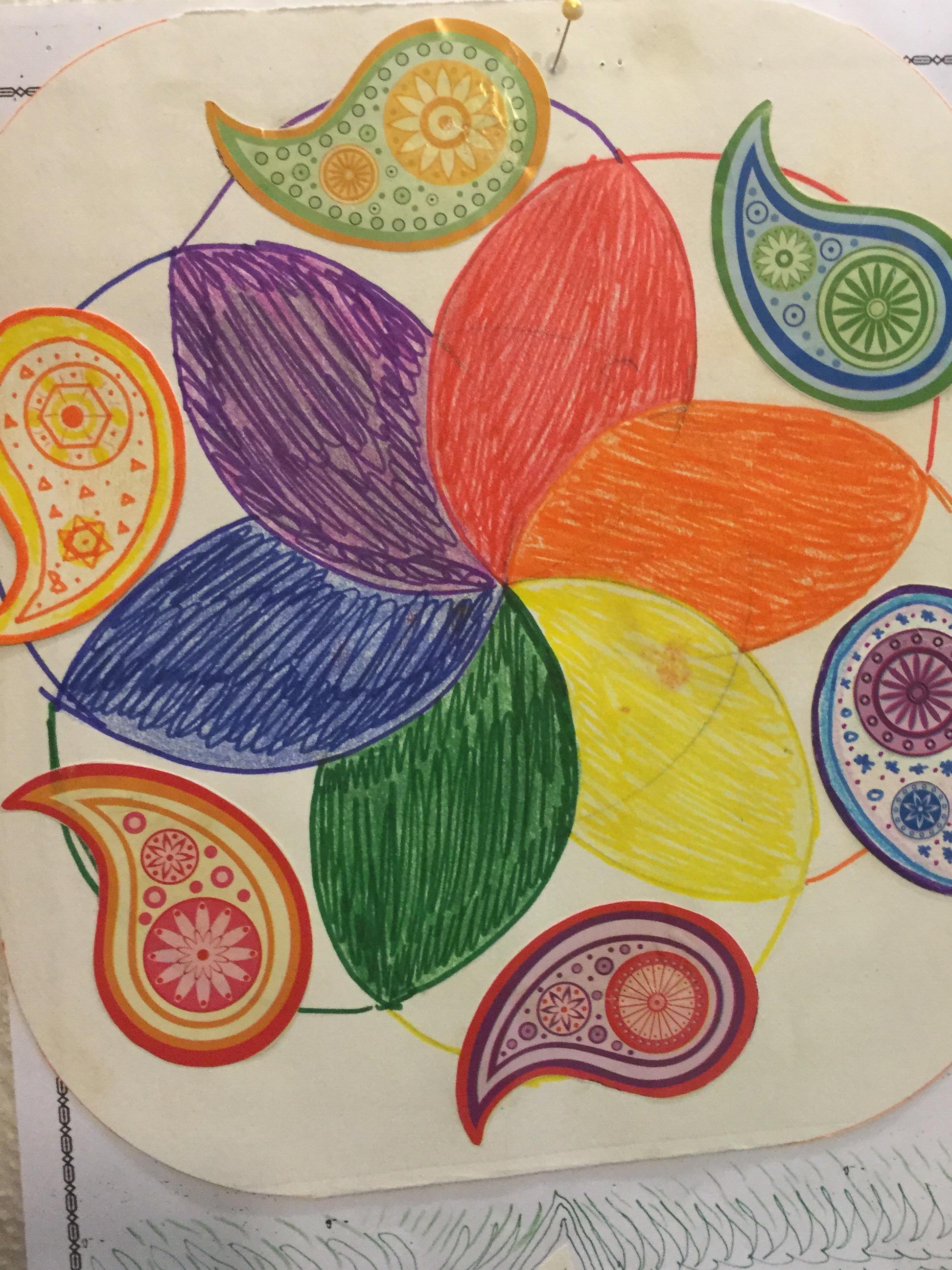 Colour Wheel Doodles